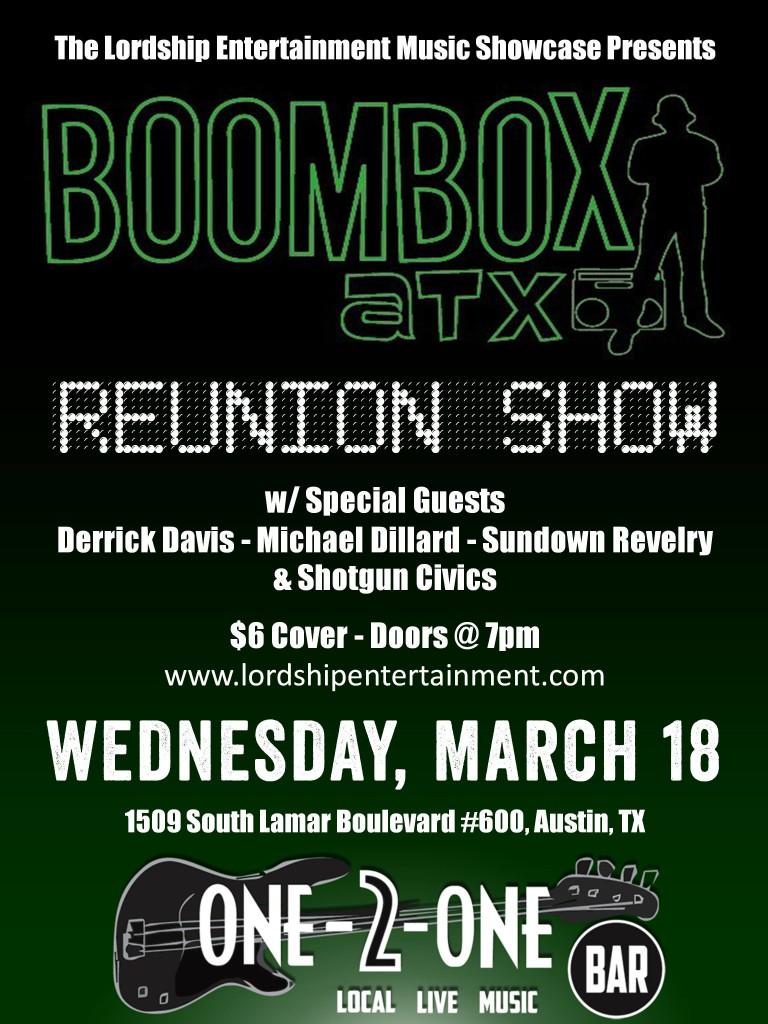 SXSW Derrick Davis Band Overlord