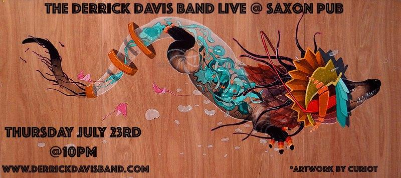 Derrick Davis Band Saxon Pub